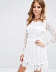 Кружевное платье Millie Mackintosh - Белый