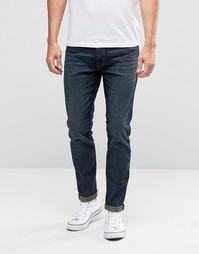 Супероблегающие выбеленные джинсы стретч Abercrombie & Fitch - Синий