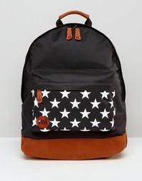 Рюкзак со звездами на кармане Мi Pac - Черный