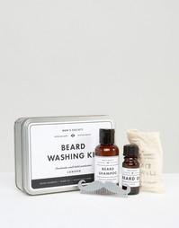 Набор средств для ухода за бородой Mens Society - Мульти