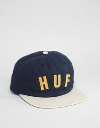 6-панельная кепка HUF - Синий