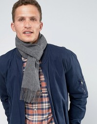 Кашемировый шарф Glen Lossie - Серый
