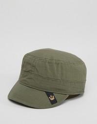 Кепка оливкового цвета Goorin Private Cadet - Зеленый