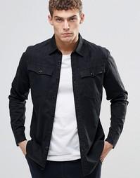 Черная рубашка G-Star 3301 - Черный
