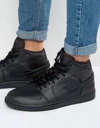 Черны кроссовки Nike Jordan Air Jordan 1 554724-034 - Черный