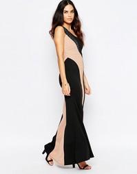 Платье макси на одно плечо Jessica Wright Silla - Черный