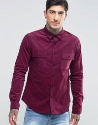 Вельветовая рубашка Another Influence - Красный