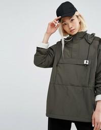 Куртка на флисовой подкладке Carhartt WIP Justine - Зеленый
