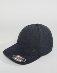 Классическая черная шерстяная кепка The North Face - Черный
