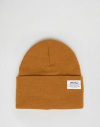 Вязаная шапка-бини Wesc Puncho - Оранжевый