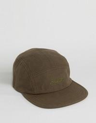 5-панельная кепка Brixton Jolt - Зеленый
