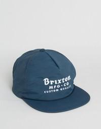 Бейсболка Brixton Sadler - Синий