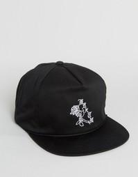 Бейсболка Brixton Rosa - Черный