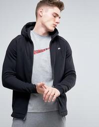 Черное худи на молнии Nike Modern 835858-010 - Черный