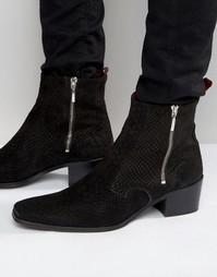 Ботинки на молнии Jeffery West Manero - Черный