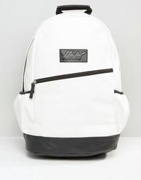 Черно-белый рюкзак Heist - Белый