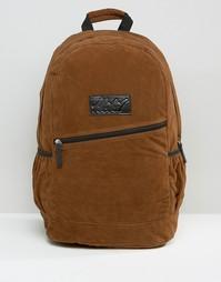 Рюкзак из искусственной замши Heist - Рыжий