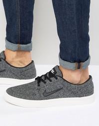 Серые кроссовки-премиум Nike SB Portmore 807399-102 - Серый