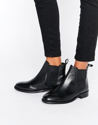 Кожаные ботинки челси Office Amble - Черный
