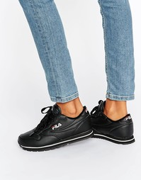 Черные кроссовки Fila Orbit - Черный