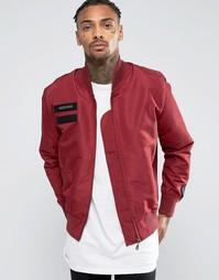 Куртка-пилот Cheats & Thieves MA1 - Красный