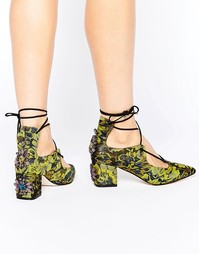 Туфли на каблуке ASOS SALOON - Мульти