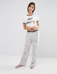 Пижамный комплект Minkpink Holy Shitake - Мульти