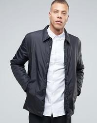 Легкая куртка в стиле рубашки Selected Homme - Черный