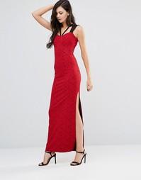 Платье макси Vesper - Красный