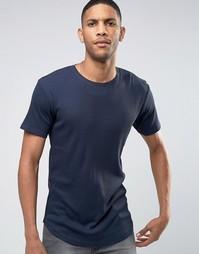 Длинная футболка Only & Sons - Темно-синий