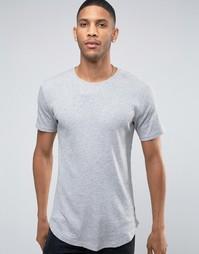 Длинная футболка Only & Sons - Серый