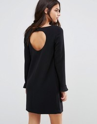 Платье с вырезом сзади и расклешенными рукавами Ba&sh Diary - Черный Ba&Sh