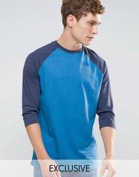 Эксклюзивная футболка с рукавами реглан 3/4 The North Face - Синий