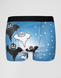 Боксеры SSDD Halloween - Темно-синий