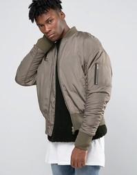 Куртка-пилот в стиле oversize Other UK - Зеленый