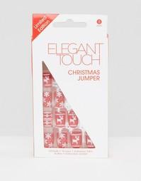 Накладные ногти Elegant Touch Christmas Jumper - Мульти