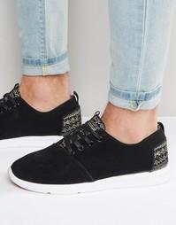 Замшевые кроссовки Toms Viaje - Черный