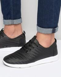 Кожаные кроссовки Toms Del Ray - Черный