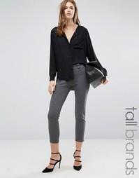 Укороченные брюки Vero Moda Tall - Серый