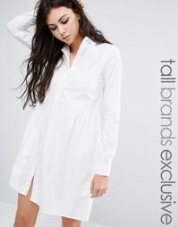 Платье-рубашка Noisy May Tall - Белый