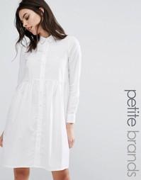 Платье-рубашка Noisy May Petite - Белый