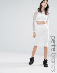 Облегающая юбка Noisy May Petite - Белый