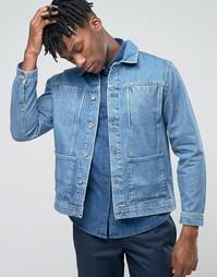 Куртка в стиле вестерн Bethnals Alfie - Синий