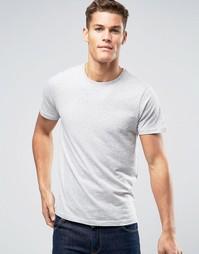 Меланжевая футболка Burton Menswear - Серый