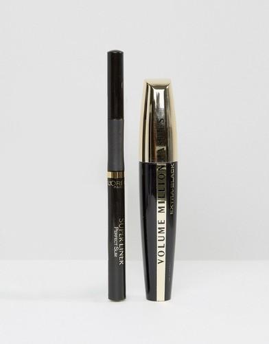 Набор для макияжа глаз LOreal Smoking Nudes By Kristina Bazan - Мульти