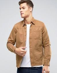 Кожаная куртка Burton Menswear - Stone