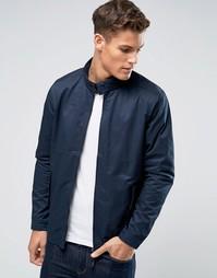 Темно-синяя куртка Харрингтон Burton Menswear - Темно-синий