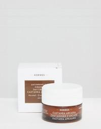 Дневной крем для нормальной и комбинированной кожи Korres Castanea Arcadia 40 мл - Бесцветный