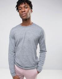 Джемпер с круглым вырезом Burton Menswear - Серый