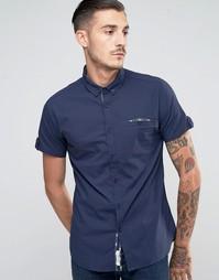 Рубашка с короткими рукавами Lambretta - Темно-синий